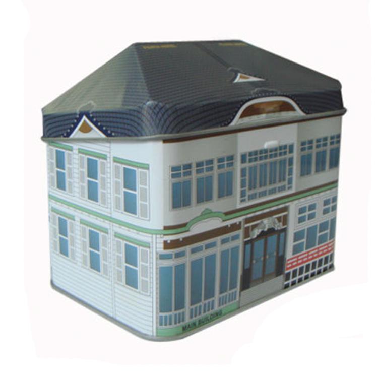 House Shaped Chocolate Boxes Christmas Gift House Tin Box Buy Tin Gift Boxtin Gift Boxhouse Shaped Tin Box Product On Alibabacom