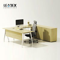 Hot sale modern design freestanding office desk office furniture malaysia