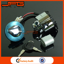 Motorcycle Ignition Switch Gas Cap Steering Lock Set Key For Honda CMX250 Rebel CA125 1995-1999 Spare Parts