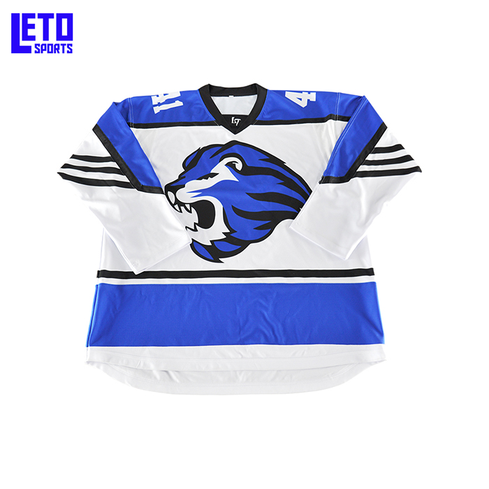 Small MOQ Top Quality Team Order Ice Hockey Jersey