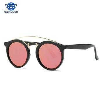 3a53efd3c8f 2018 Trending Products Polarized Sunglasses Women Retro Brand Designer  Round Lens Steampunk Unisex Sun Glasses UV400