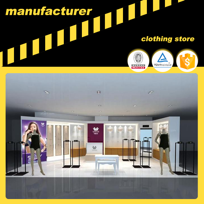 retail store garment kiosk decoration clothes shop decoration garment store decoration interior design