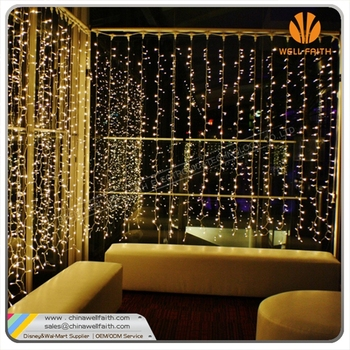 Oem Led Curtain Lights Christmas Curtain String Light Fairy - Curtain lights for bedroom