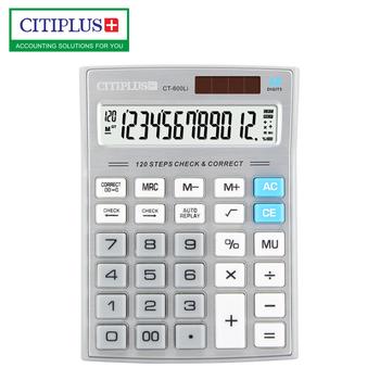 Citiplus 120 Steps Check Calculator 12 Digits Desktop