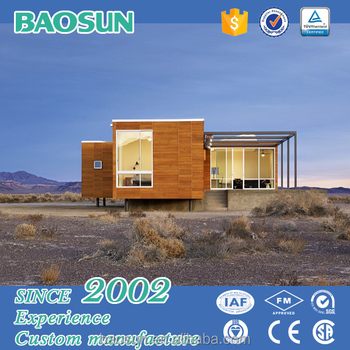 Low cost tiny house prefabricated guest container house for Low cost home building kits