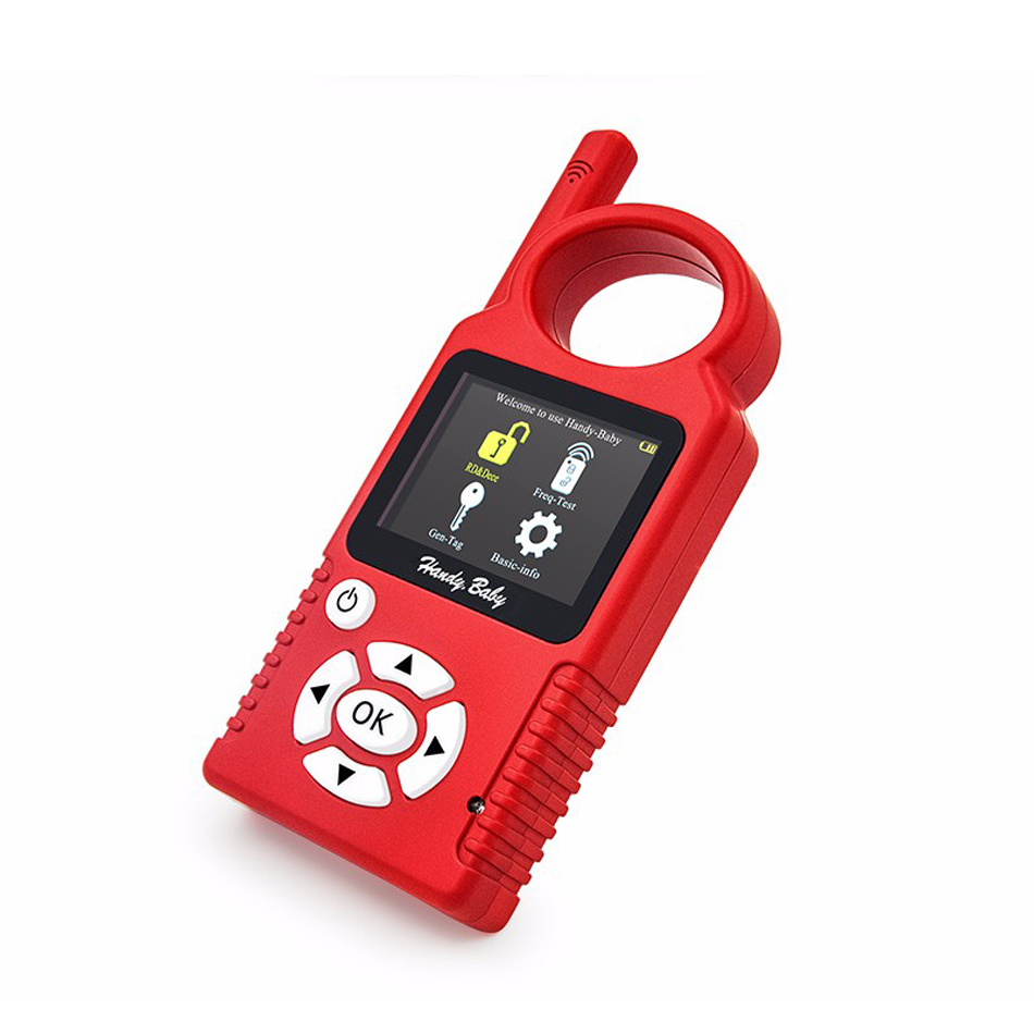 Handy Baby CBAY Hand-held Car Key Copy Auto Key Programmer for 4D/46/48 Chips CBAY Chip Programmer Update Ver 468 KEY PRO III