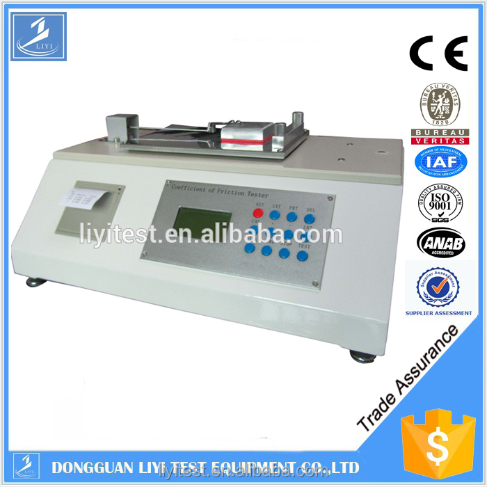 Best coefficient of friction testing equipment manufacturer