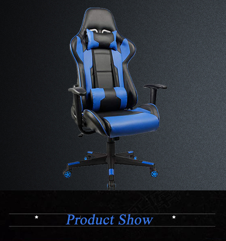 Racing Style Computer Gaming Chair Gamer Chair with Headrest  for Office with Armrest