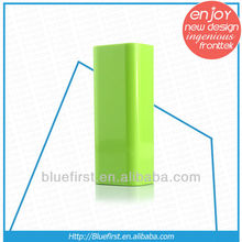 Colorful portable 2600mah power bank asus
