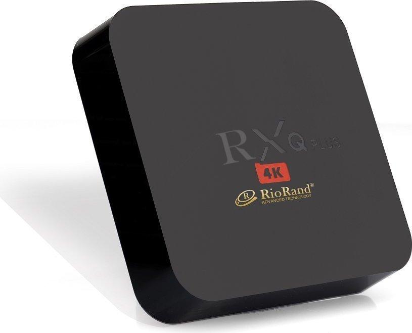 RioRand RXQ Plus TV Box Amlogic S905 Quad-core 64-bit Android 5.1 1/8GB UHD 4K 60fps Smart Streaming Media Player