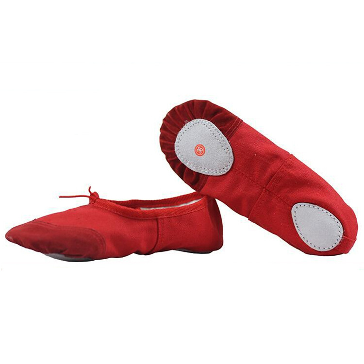 Wholesale Pure Color Canvas Dancing Shoes