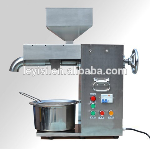 LY-129 Automatic Stainless Steel mini oil press machine for peanut,sesame