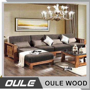 Wholesale living room furniture fabrique solid wood sofa set for sale buy cheap fabrique sofa for Cheap oak living room furniture