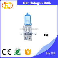 12V 55W Car Headlamp Auto Halogen Bulb H3 H1 H4 H7 H11