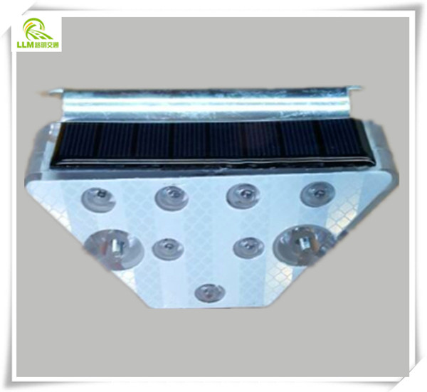 Hot sale Trapezoid IP68 waterproof solar LED reflector guardrail delineator
