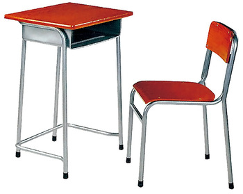 New design cheap student desk and chair with high quality
