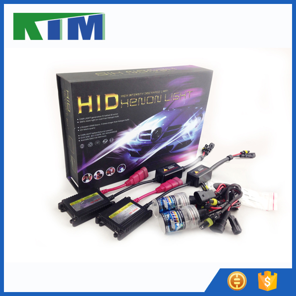 Fast delivery 35w 55w DC hid xenon kit 6000k for car