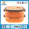 square camping stainless steel food warmer container
