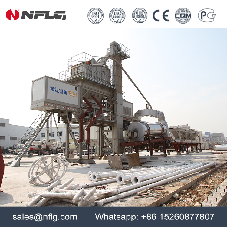 The best brand asphalt mixing plant mobile 120t with good quality