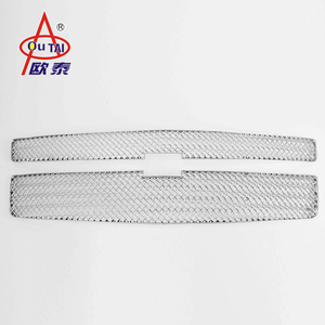 Abs Plastic Auto Car Accessories Body Kit Chrome Grill Front Grille (Replaced) For 15-17 SUBURBAN & TAHOE