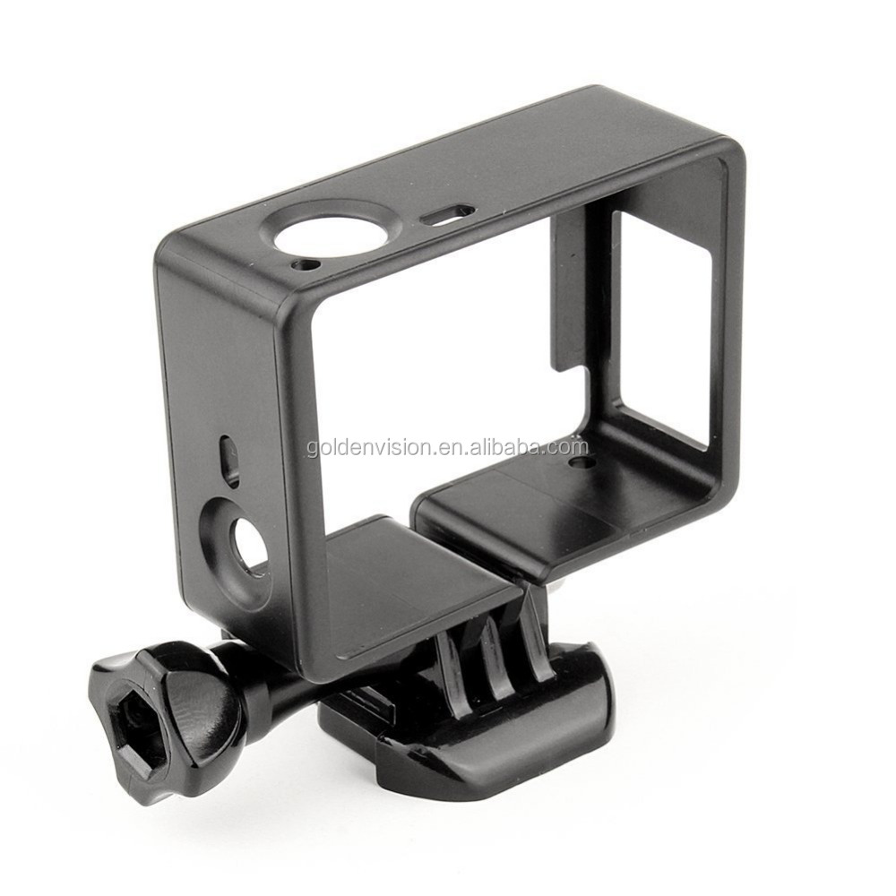 Frame Mount Housing Case with Basic Buckle and Long Thumb Bolt Screw for GoPro Hero 3 3+ 4 Camera