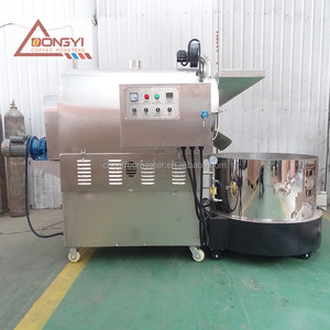 Automatic 50kg 100kg 150kg sunflower seeds roasting machine/Lowest price cashew nuts roaster