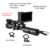WGX1 Wildgameplus Wild Game Night Vision Scope with 3w Laser Torch Night Riflescope 5inch Display NV Scope