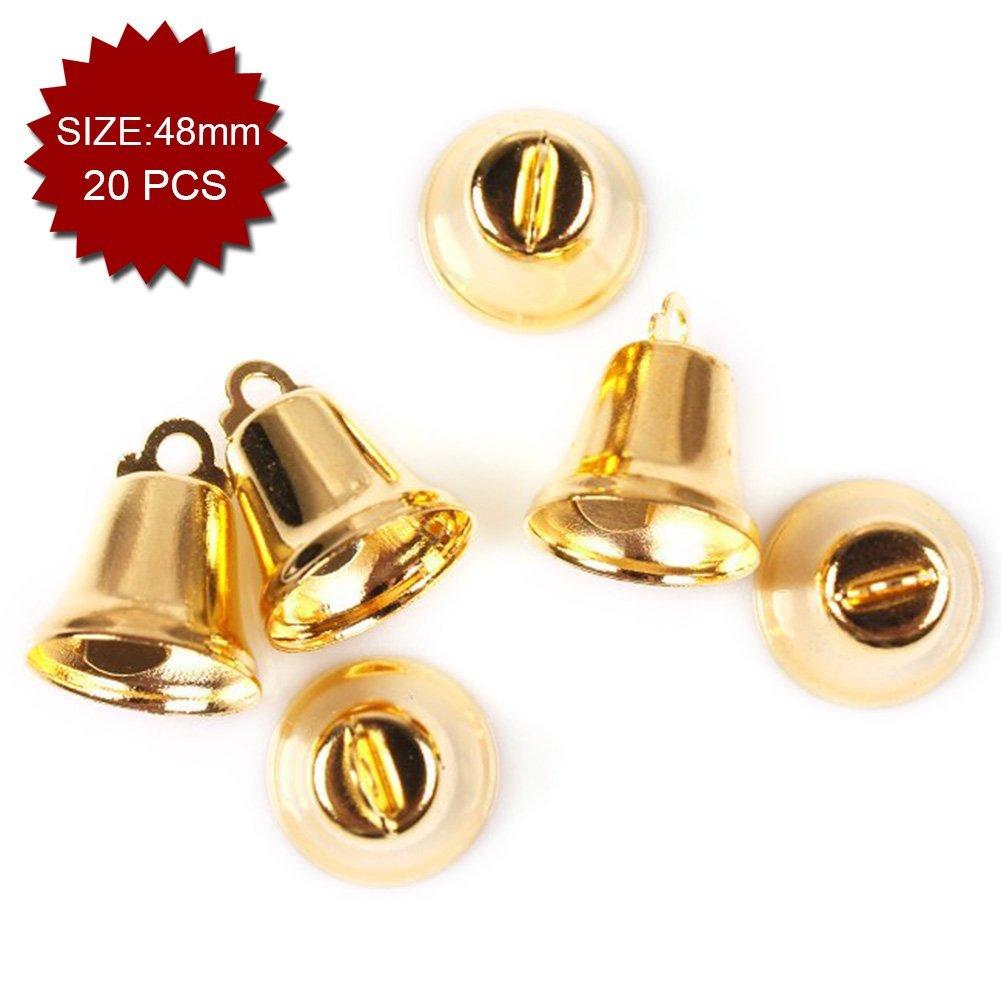 8mm 100pcs Wedding Favor Supplies Aspire Brassy Mini Liberty Bells