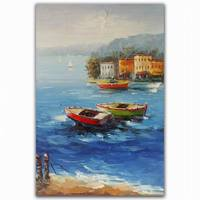 seascape natural scenery fine art canvas oil painting for home good wall decor