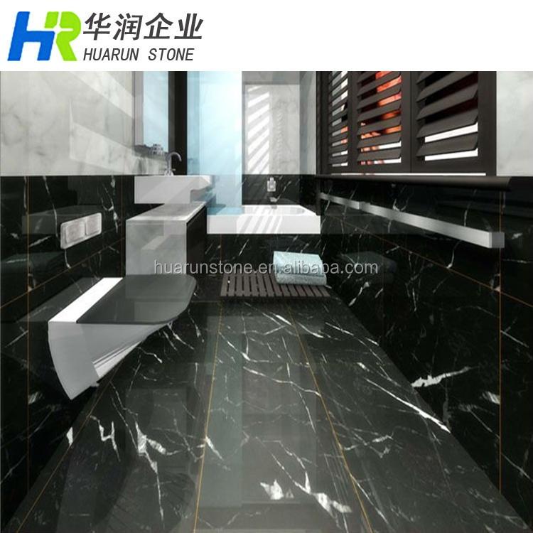 China nero marquina m rmol blanco y negro ba o vanidad for Marmol blanco y negro