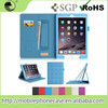 Hot Selling in USA Elegant Plaid Tablet Case For iPad Air 2 with Card Slot