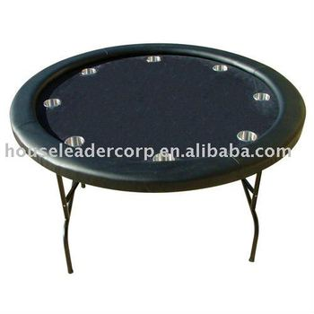 52 39 39 black felt round poker table buy round poker table for 52 table view