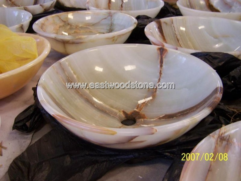 traditional and impressive decorative onyx white marble