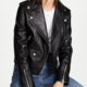 High Quality Wholesales PU Leather Jacket Women Black Biker Motorcycle Leather Jackets