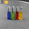 wholesale refillable fancy cute colorful empty glass spray perfume bottle