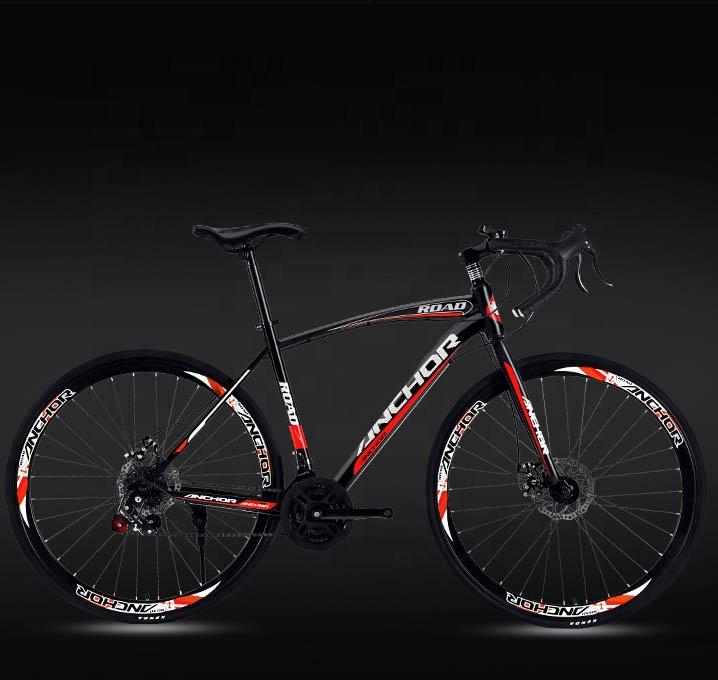 सड़क बाइक 21 / 24 / 27 गति 700 सीसी वयस्क मोड़ दौड़ साइकिल के लिए पुरुष और महिला छात्रों