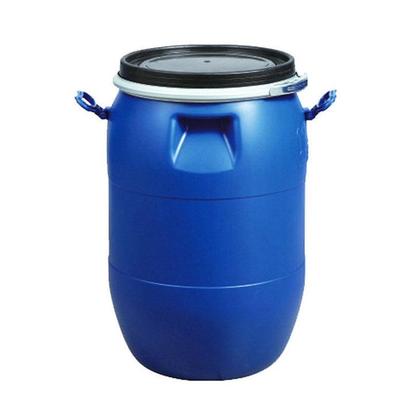 30L 50L 60L 120L 160L 200L नीले प्लास्टिक ड्रम भंडारण कंटेनर खाद्य पदार्थों के लिए/पानी/रसायन/ईंधन पैकिंग