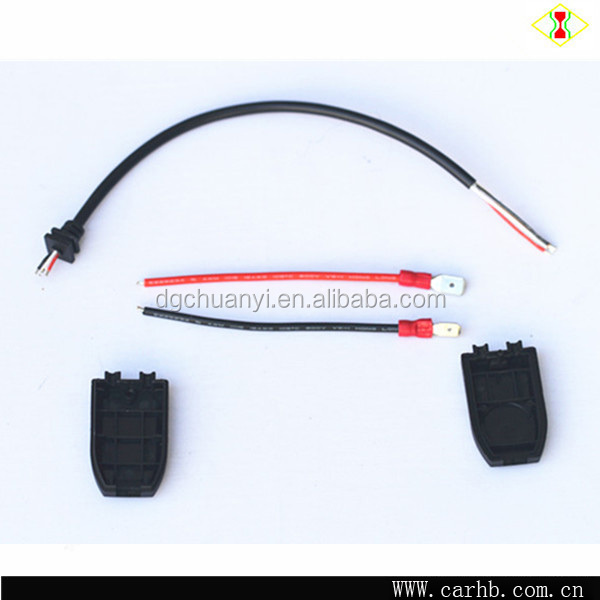 led headlight h11 male conversion pigtail wiring harness
