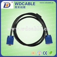 High quality vga to s-video 3 RCA composite cable