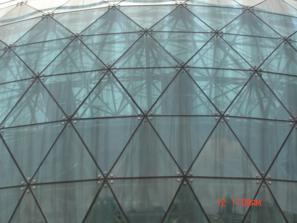 Different Types Steel Space Frame Structure Geodesic Dome - Buy Dome ...