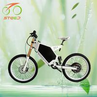 3000w high power full suspension electric mountain bike for man