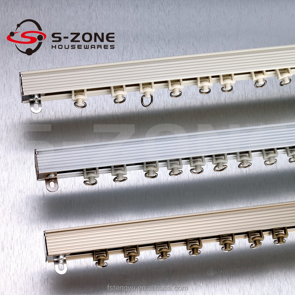 Sliding Rail Ceiling Mounted Curtain Track System Ceiling