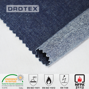 High Visible Yellow Fire Resistant Antistatic twill fabric for mining workwear