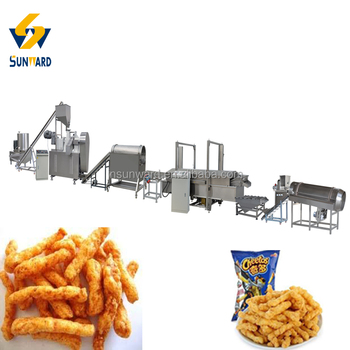 Most Selling Products Kurkure Food Processing Extruder Machine