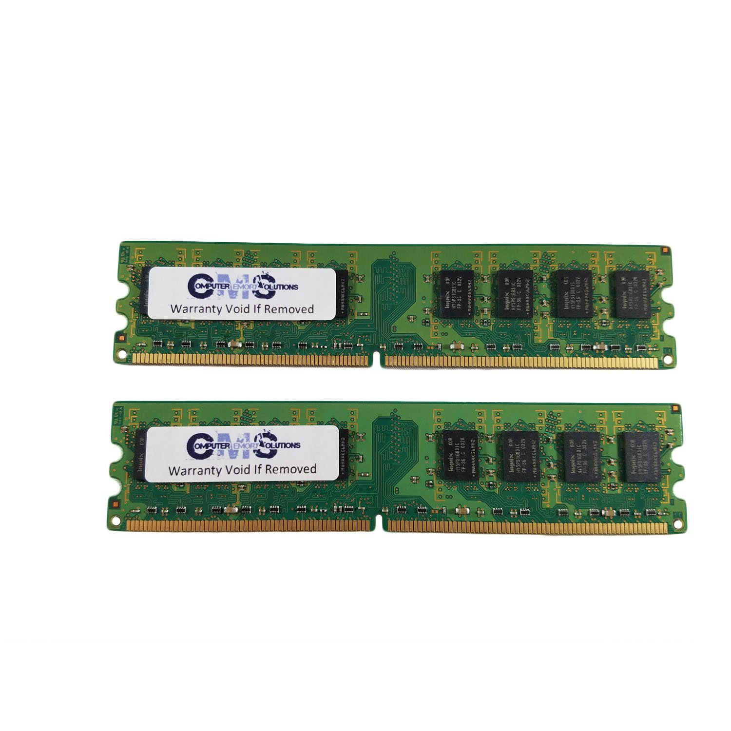 PARTS-QUICK Brand 2GB Memory for Biostar G41D-M7 Motherboard DDR2 PC2-6400 800MHz DIMM Non-ECC RAM Upgrade