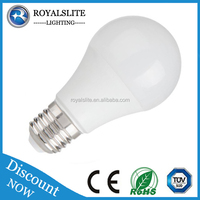 milky cover e27 led bulb lighting cfl downlights surface mount