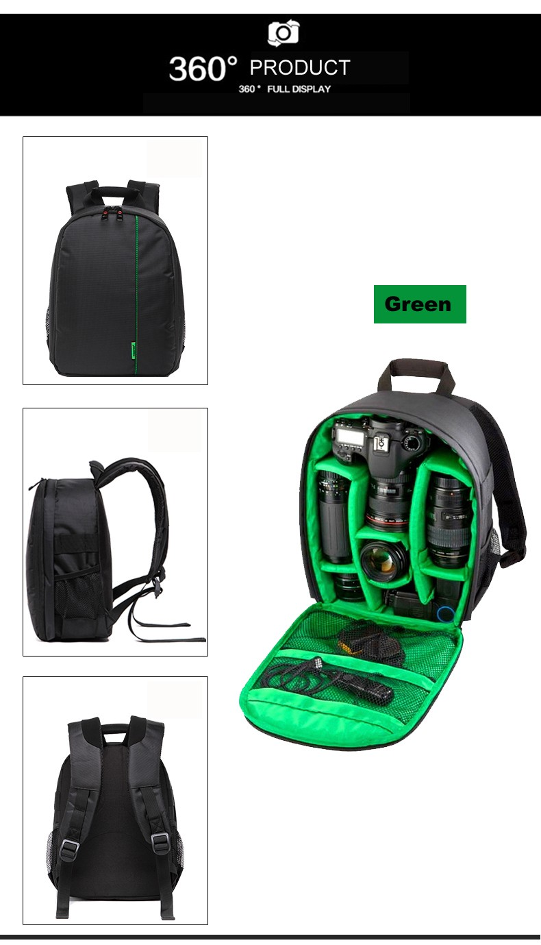 2018 Hot selling camera bag for men bags for camera outdoor backpacks for camera