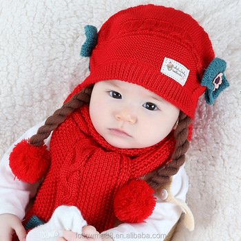 6b728aa0060c sleek 9169d a5363 baby girl winter hat white with flowers ...