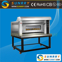 Stainless steel single deck gas baking oven price