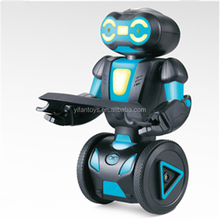 New RC Robot toy musical dancing toy robot with light and music Smart Self Balancing RC Robot Kit For Gift